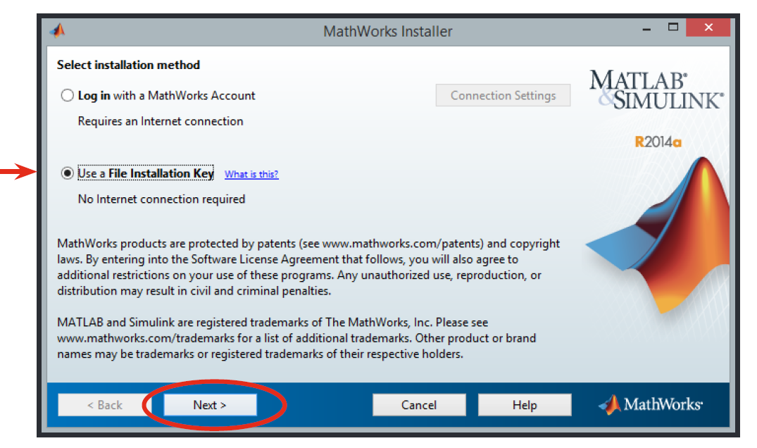 matlab r2015b installation key crack