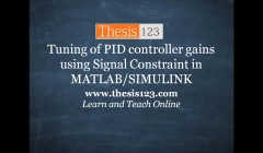 thesis on pid controller Fuzzy logic in control 531 fuzzy supervised pid-control 163 misunderstanding about fuzzy control this thesis aims at providing an analysis of fuzzy.