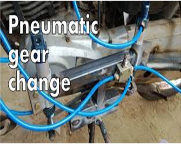 pneumatic gear change
